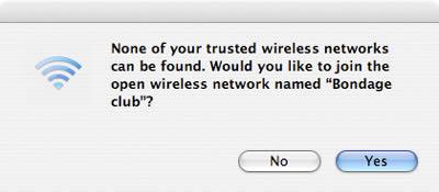 Lien d'ailleurs : Funny Wifi Network Names