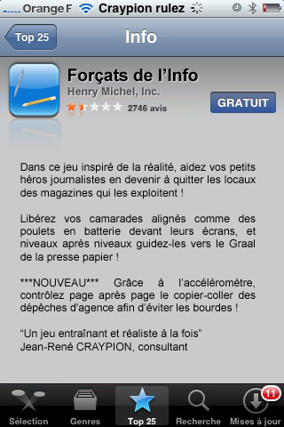 3 applications iphone qui n'existent pas.